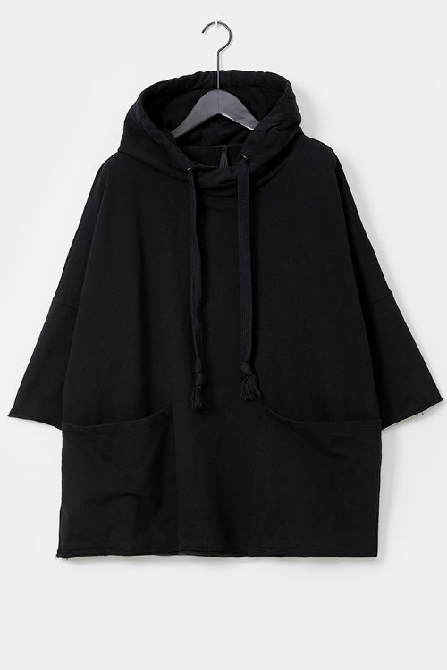 Washed Hooded Square T-shirt