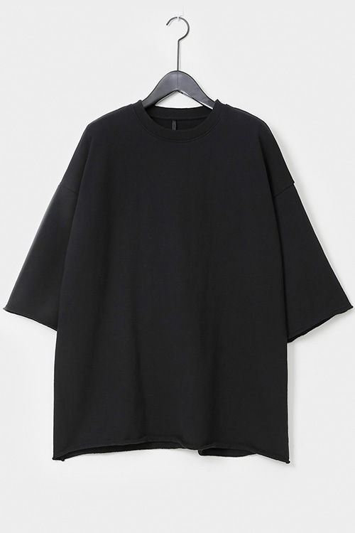 Washed Oversized Frech Terry T-shirt